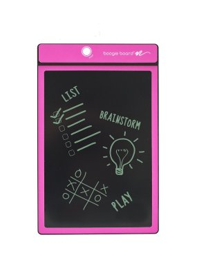 boogie board lcd writing tablet review The boogie board rip lcd writing tablet from improv electronics is a perfected version of the original the 95 lcd screen offers plenty of room for notes, doodles, drawings or a combination thereof to successfully eliminate the need for paper.
