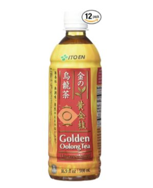 $17 Ito En Golden Oolong Tea, Unsweetened, 16.9 Fluid Ounce (Pack of 12)