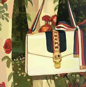 新品8.8折 Sylvie,酒神都有Gucci 2018春夏新品上架 收敲美樱花粉乐福鞋