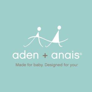 英国王室/ 扎克伯格/ 好莱坞明星的选择Aden+Anais 全场7.5折特惠 收宝宝包巾、纱毯、睡袋