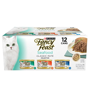 $7.94Purina Fancy Feast Medleys Tuscany Collection Gourmet Wet Cat Food Variety Pack- (24) 3 oz. Cans