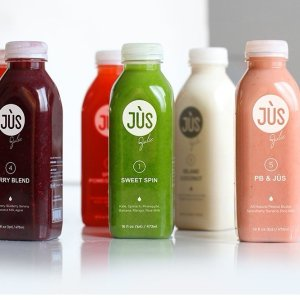 $90($217 Value)3 Day JUS Cleanse + Get 3 Free Protein JUSes + Free Cooler Tote + Free Shipping @ Jus by Julie