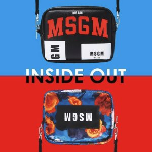 $25.24 / RMB159 直邮中美MSGM 目录+内外两用侧背包 超火时尚单品