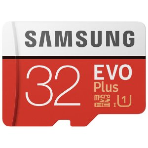 $9Samsung EVO Plus 32GB microSDHC UHS-I Memory Card