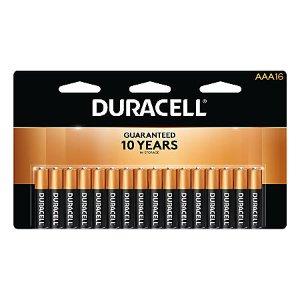$15.99返$15.9816支装 Duracell 铜头电池 (AA/AAA) 相当于$0.01