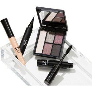 送免费眼部烟熏妆4件套+免邮e.l.f. Cosmetics 官网消费满$25可享好礼