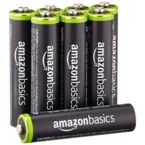 $9.998-Pack AmazonBasics AAA Rechargeable Batteries