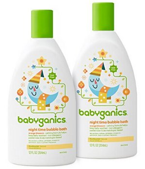 $11.29Babyganics 无香型婴儿泡泡沐浴露20盎司,2瓶装