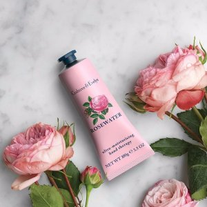 Dealmoon Exclusive! Receive 60% offSelect Rosewater items + FREE Rosewater Hand Therapy (100g) with purchase of $50 or more @ Crabtree & Evelyn
