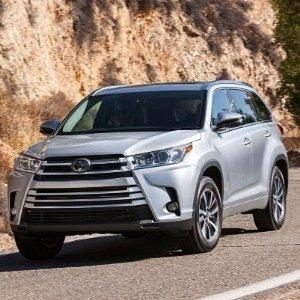 畅销8座,舒适顾家之选2018 Toyota Highlander 中型SUV