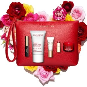 Bouquet of BeautyWith any $100 order @ Clarins