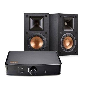 $359.99Klipsch Powergate Amplifier + R-14M 4-Inch Reference Bookshelf Speakers (Pair, Black)