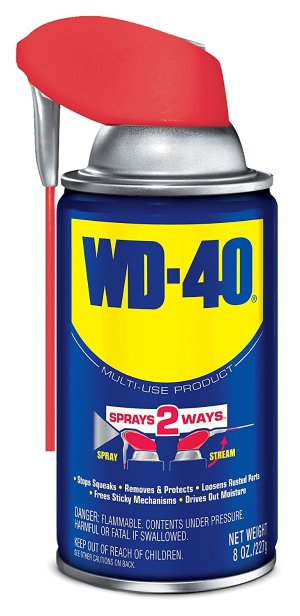 $3WD-40 Multi-Use Product - Multi-Purpose Lubricant with Smart Straw Spray. 8 oz.