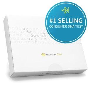 $89情人节特别的爱: AncestryDNA 溯源基因测试