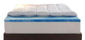 $129.99限今天:Sleep Innovations 4-Inch双层记忆棉加厚床垫 Queen尺寸