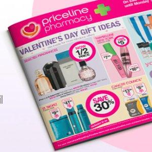 低至4折 情人节礼物挑起来Priceline 本周最新打折图表(2月1日--2月12日)