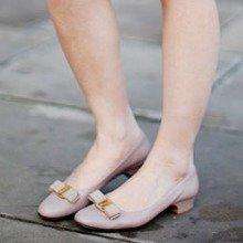 最高立减$300 入蝴蝶结鞋菲拉格慕女士平底,中跟,高跟鞋履 优雅还百搭