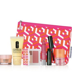 Free 7-pc Gift with Clinique Purchae of $28 @ macys.com