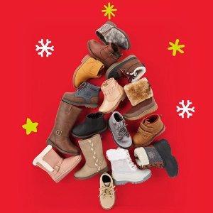 $8.99婴儿鞋 $16靴子统一价OshKosh官网 童鞋Doorbuster促销,14岁以下都有