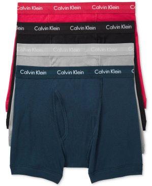 $19.99Calvin Klein Men's Classic Boxer Briefs 3+1 Pars Sale