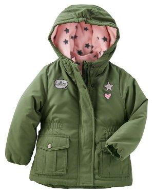 厚款$25.5 (原价$85)最实用的OshKosh儿童4合1外套,穿脱之间不再纠结,0-14岁都有