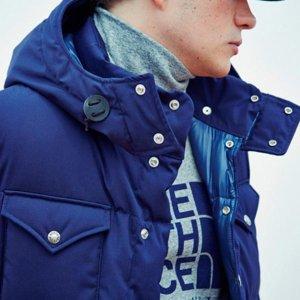低至4.5折 现在入手最划算半年一度:The North Face 羽绒服,冲锋衣,抓绒衣等促销