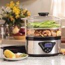 $29.47 Hamilton Beach Digital Food Steamer - 5.5 Quart (37530A)