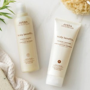Choose 5 Hair Sampleswith $25 Orders & 2nd Day Shipping @ Aveda