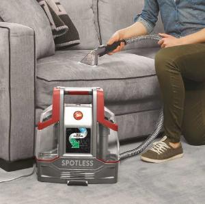 限今天!$114.99(原价$159.99)Hoover 便携式 地毯织物 污渍清洁机