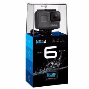$399.99 无税包邮GoPro HERO6 Black 每秒240帧拍摄 旗舰级运动相机