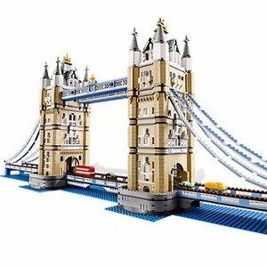 6.5折 + 送LEGO狗年限定版积木史低价:LEGO Creator系列 伦敦塔桥10214