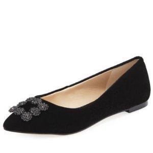额外8折Karl Lagerfeld 女鞋热卖 如MB钻扣平价款
