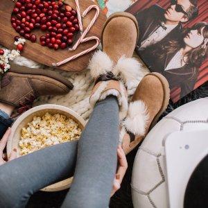 再度降价 低至5折 + 免邮上新:UGG 雪地靴,休闲鞋,服饰等季末促销