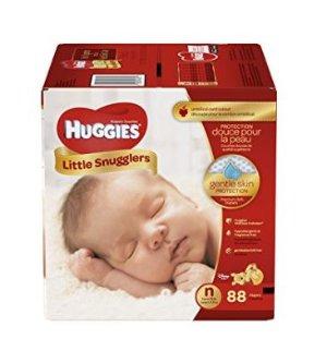 CDN$18Huggies Little Snugglers纸尿裤(新生儿号N - Step 1 号)