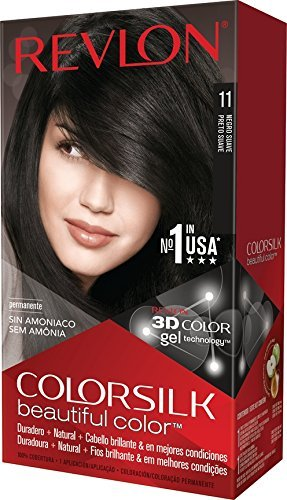 $3,69Revlon Colorsilk Beautiful Color Hair Color, Soft Black @ Amazon