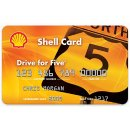 Get 25¢ off every gallon* of Shell fuel for the first 2 months after your account open date. After that, ongoing savings! Get 5¢ off every gallon*, every time when you use the Shell Drive for Five® Card. New Accounts Only. Apply by 12/31/2018. Shell Drive for Five® Private Label Credit Card