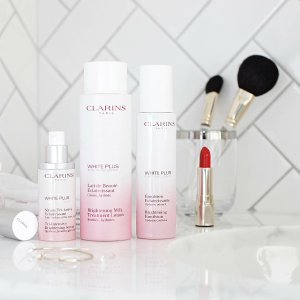 Up to 25% OffWhite Plus Collection @ Clarins