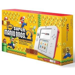 $79.99Nintendo 2DS 新超级玛丽兄弟2 白红色限定版