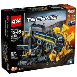 $229.99(原价$329.99)LEGO Technic系列 大型斗轮式挖掘机42055