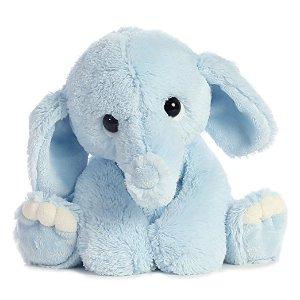 $9.74 (原价$12.99) 近期低价Aurora 9吋高安抚小象 蓝色款
