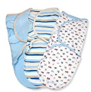 CDN$24Summer Infant SwaddleMe 全棉婴儿安全包巾(3个装)