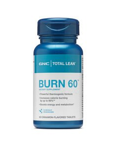 3 For $25GNC Total Lean™ Burn 60™ - Cinnamon Flavored