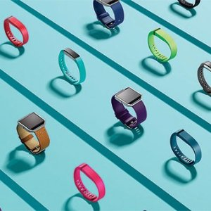 最高立减$50Fitbit 运动手表、运动手环系列,2018要减肥的看过来