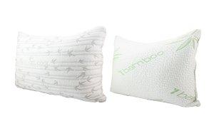团购价$34Groupon 精选大号竹纤维泡沫对枕