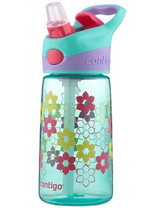 $5Contigo AUTOSPOUT Straw Striker Kids Water Bottle, 14oz