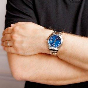 立减 $100  $299.99 (原价$1195)VERSACE 范思哲 Hellenyium GMT 系列正装男表 两色款