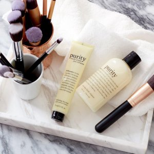 Receive The Cyber Monday Gift Set ($183 value)With $75Purchase @ philosophy