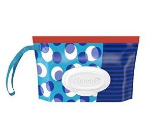$1.9包邮妈妈必备 Huggies好奇 One & Done婴儿湿巾随身包-32片装