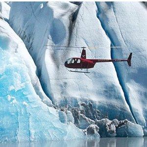 6折 $199起阿拉斯加 Knik 冰川1小时直升机游览 含着陆冰川