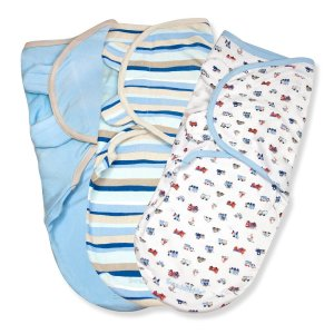 $15.95Summer Infant  SwaddleMe 全棉婴儿安全包巾三个装